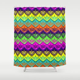 Elena Pattern Shower Curtain