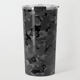 Black Camo Travel Mug