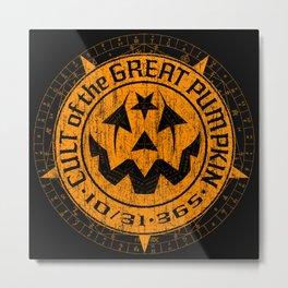 Cult of the Great Pumpkin: Alchemy Logo Metal Print