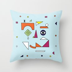 Face Modern (No.1) Throw Pillow