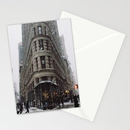 Flat Iron, wide Stationery Cards