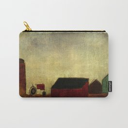 Americana Barnyard with Tractor Carry-All Pouch