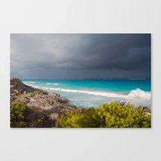 Tulum Storm Canvas Print