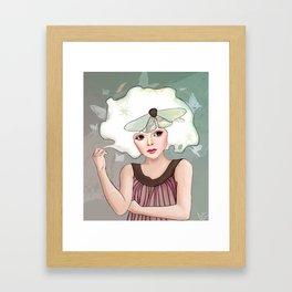 Margaret Framed Art Print
