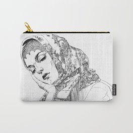 Strong, beautiful, deep, sad. Russian. Yury Fadeev Carry-All Pouch
