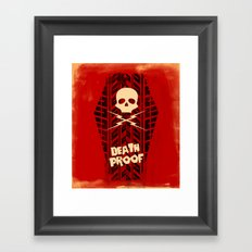 Death Proof - Movie Posters Framed Art Print