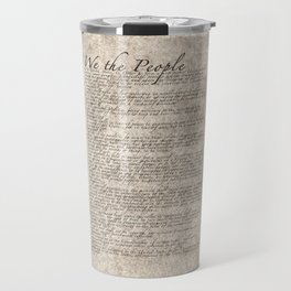 United States Bill of Rights (US Constitution) Travel Mug