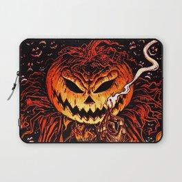 Halloween Pumpkin King (Lord O' Lanterns) Laptop Sleeve