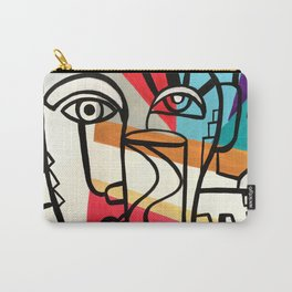 URBAN POP ART - ORIGINAL ART COLORFUL ROBERT R Carry-All Pouch