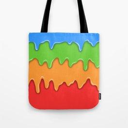 Bright color melt Tote Bag