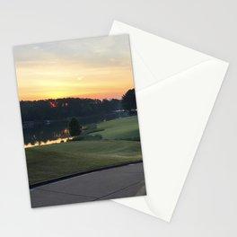 Golfing the Lake Stationery Cards