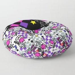 Exotic Punk High Heels by MamirruQuis Floor Pillow
