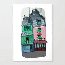 Odette, 5th arrondissement - Paris - France Canvas Print