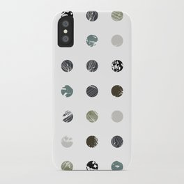 Graphic_Dots iPhone Case