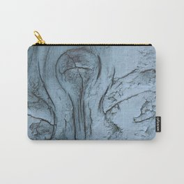 Whimsical frosted wood Carry-All Pouch