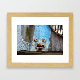 Faces of the Hundertwasserhaus Framed Art Print