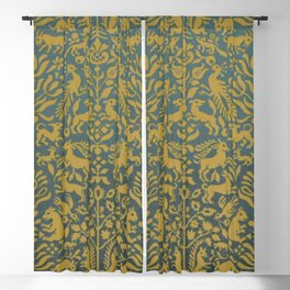 Animal Tapestry Blackout Curtain