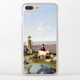 Wilhelm von Kobell On Gaisalm Clear iPhone Case