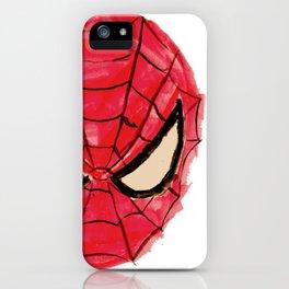 Kid's Spider-Man Art iPhone Case