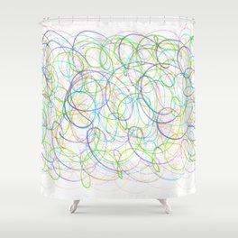 Fish Net Shower Curtain