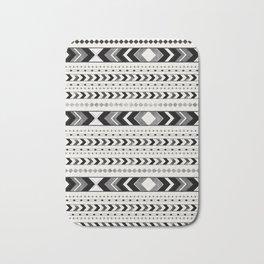 Tribal Arrow Boho Pattern #2 #aztec #decor #art #society6 Bath Mat