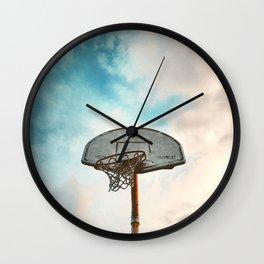 basketball hoop 8 Wall Clock