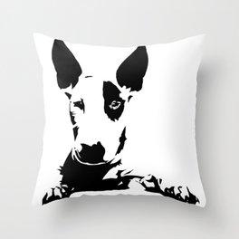 BULL TERRIER GIFTS Throw Pillow