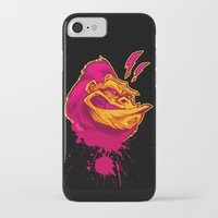 ape iPhone & iPod Cases featuring SHREWD APE by BeastWreck