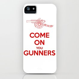 Come on You Gunners iPhone Case