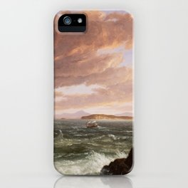 Views Across Frenchman's Bay from Mt. Desert Island, After a Squall iPhone Case
