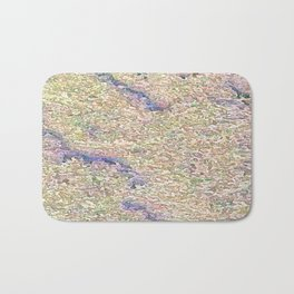 Stucco Texture Bath Mat