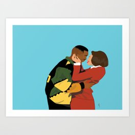 Damn Gina & Martin - This Kind of Love Art Print