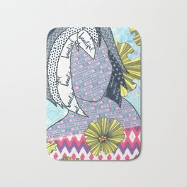 Never Be Anyone But Yourself (You Are Beauiful) Bath Mat