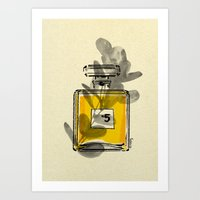 perfume Art Prints featuring Perfume by Magdalena Pankiewicz