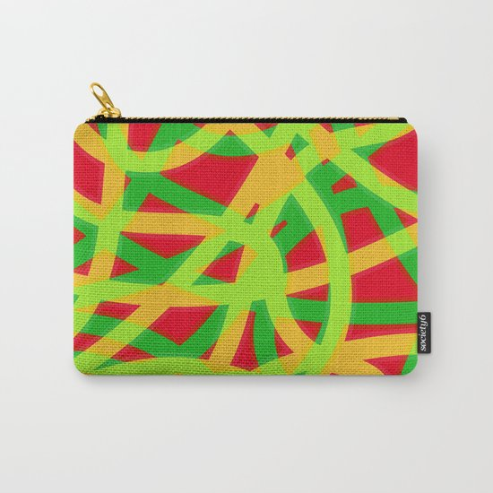 lively lines Carry-All Pouch