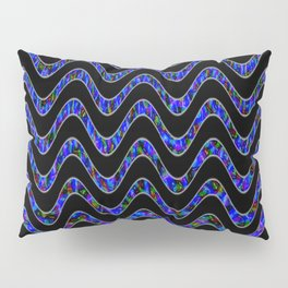 Waves of colors... Pillow Sham