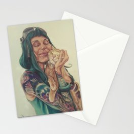 Meli and Figaro Stationery Cards