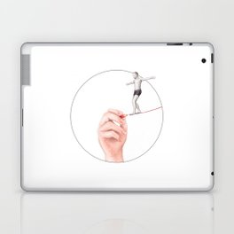 It's a Thin Line by Lars Furtwaengler | Colored Pencil | 2012 Laptop & iPad Skin