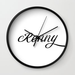 Name Ronny Wall Clock