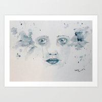 lost in translation Art Prints featuring Lost in Translation  by kcleigh artworks