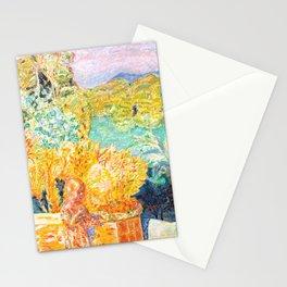 Pierre Bonnard - Paysage du Midi et deux Enfants - Landscape in Midi and two Children - Les Nabis Pa Stationery Cards
