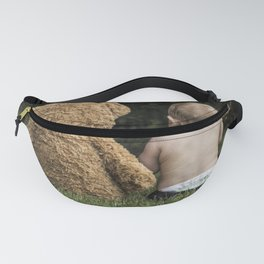 Baby and Teddy Bear Fanny Pack