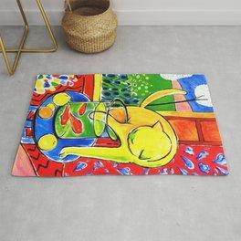 Henri Matisse - Le Chat Aux Poissons Rouges 1914 Rug