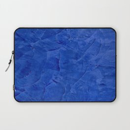 Dark Blue Ombre Burnished Stucco - Faux Finishes - Venetian Plaster - Corbin Henry Laptop Sleeve