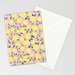 Squeeze a Lemon Stationery Cards