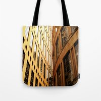 library Tote Bags featuring Library  by Ethna Gillespie
