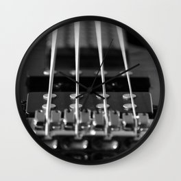 Black and White Perspective Wall Clock