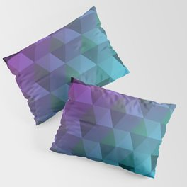 Flight of the Triangles Pillow Sham
