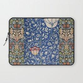 William Morris Victorian blue flowers Laptop Sleeve