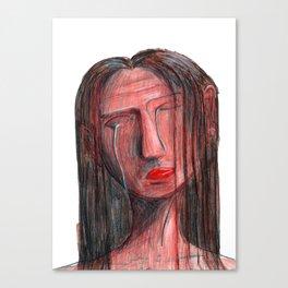 Silver Tears Canvas Print